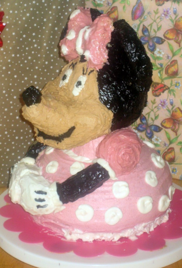 Minnie Mouse Trouble Caitlins 2nd Birthday No Shortcuts